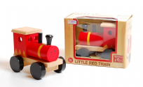Deluxe Wood Children's Little Red Train Traditional Toy Age 3+